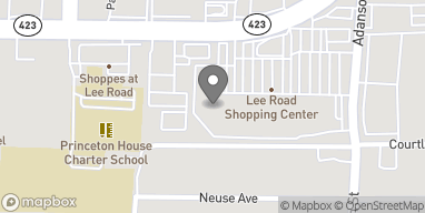 Map of 916 Lee Road in Orlando