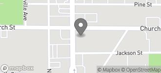 Map of 1234 W Church Street in Orlando