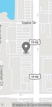 Map of 12648 S Orange Blossom Trail in Orlando