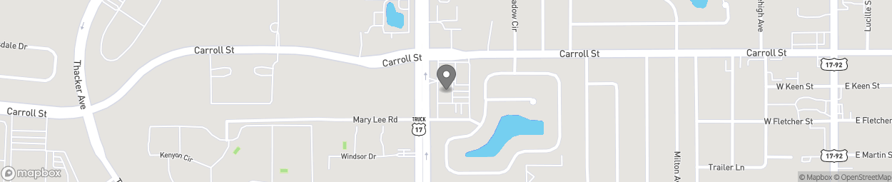Map of 2645 North John Young Pky in Kissimmee