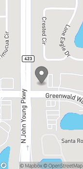 Mapa de 3297 Greenwald Way North en Kissimmee