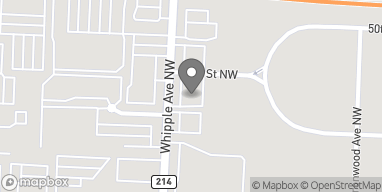 Map of 4912 Whipple Ave NW in Canton