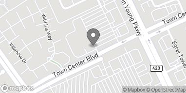 Mapa de 4193 Town Center Blvd en Orlando