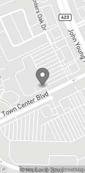 Map of 4193 Town Center Blvd in Orlando