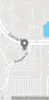 Map of 4006 Conroy Road in Orlando