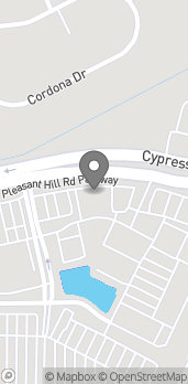 Map of 924 Cypress Pkwy in Kissimmee