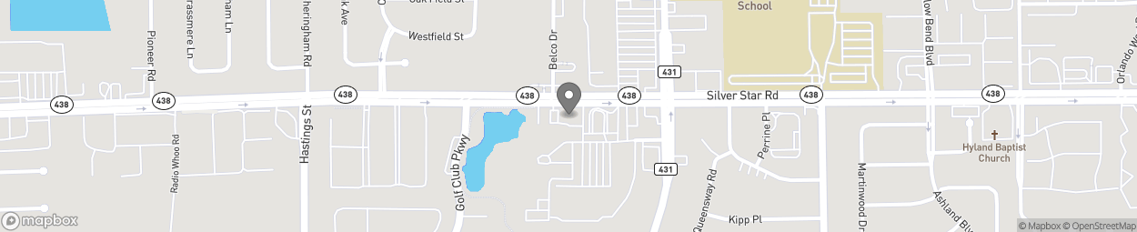 Map of 5408 Silver Star Road in Orlando