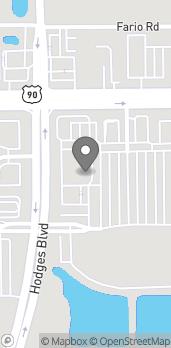 Map of 3267 Hodges Blvd in Jacksonville