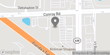 Map of 4736 S Kirkman Rd in Orlando