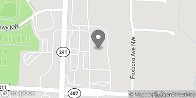 Map of 7257 Fulton Dr NW in Canton