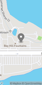 Map of 7543 West Sand Lake Rd in Orlando