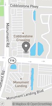 Mapa de 2771 Monument Road en Jacksonville