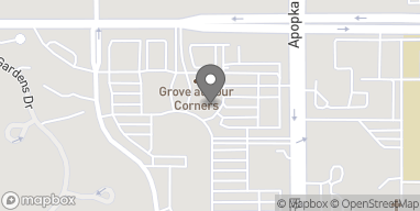 Map of 4757 The Grove Dr in Windermere