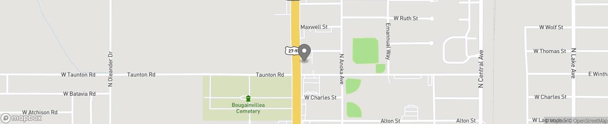 Map of 650 US Highway 27 N in Avon Park