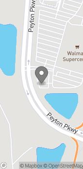 Mapa de 935 Durbin Pavilion Dr en Saint Johns