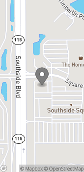 Mapa de 9039 Southside Blvd en Jacksonville