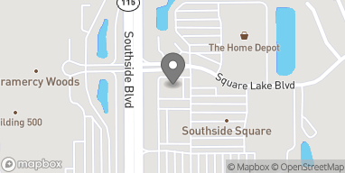 Map of 9039 Southside Blvd in Jacksonville