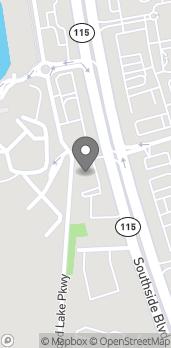 Map of 4490 Southside Blvd in Jacksonville