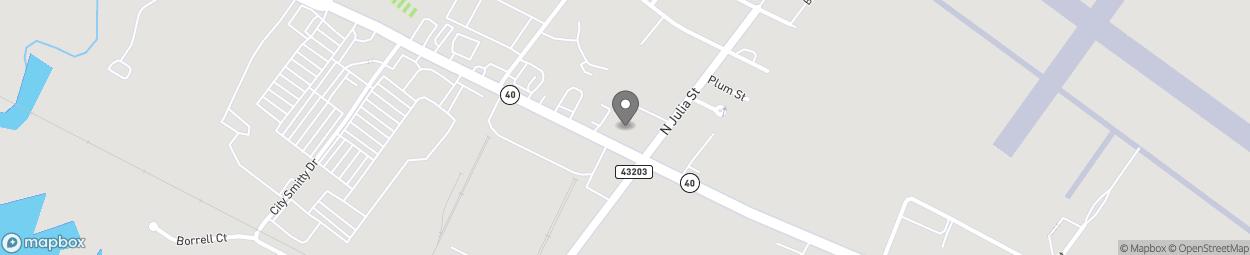 Map of 2406 Osborne Road in Saint Marys