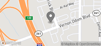 Map of 1391 Wooster Avenue in Akron