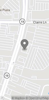 Map of 11113-102 San Jose Blvd in Jacksonville
