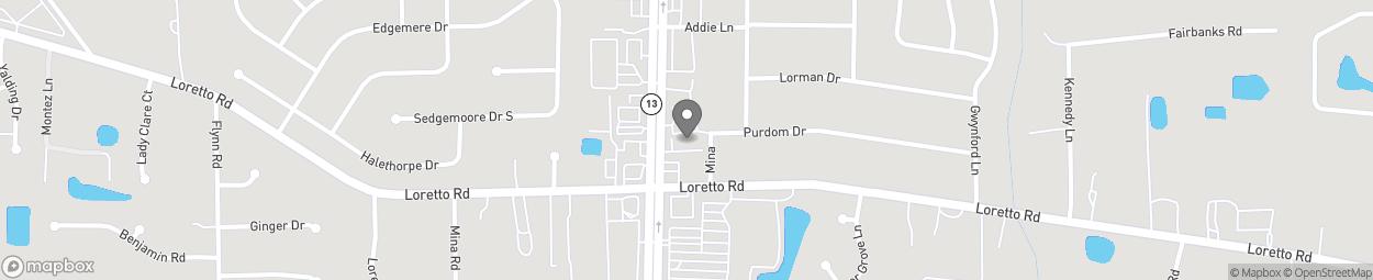 Map of 11633 San Jose Blvd in Jacksonville
