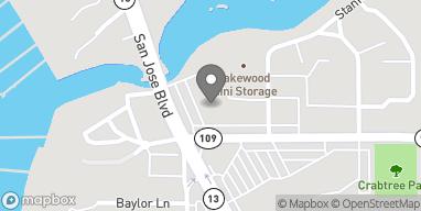 Map of 5635-1 San Jose Blvd in Jacksonville