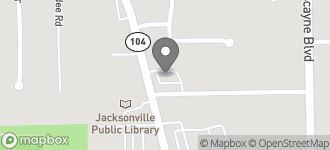 Map of 1855 Dunn Ave in Jacksonville