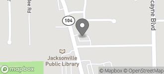 Map of 1855 Dunn Ave in Jacksonville