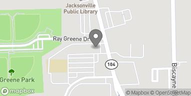 Mapa de 1680 Dunn Ave en Jacksonville