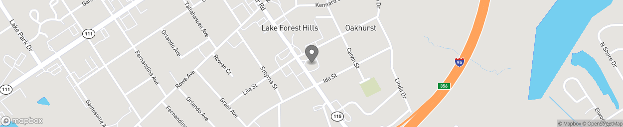 Map of 7333 Lem Turner Road in Jacksonville