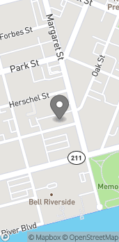 Mapa de 1620 Oak Street en Jacksonville