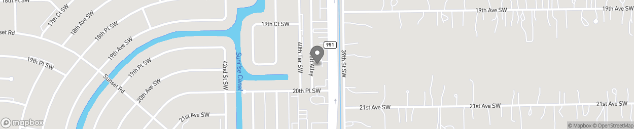 Map of 12145 Collier Boulevard in Golden Gate