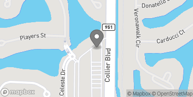 Map of 7729 Collier Blvd in Naples