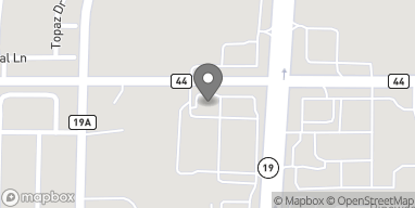Map of 256 W County Rd 44 in Eustis