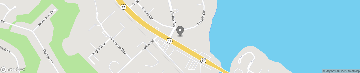 Map of 1354 N Orange Ave in Green Cove Springs