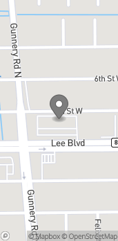 Map of 4316 Lee Blvd in Lehigh Acres