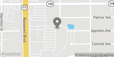 Mapa de 4495 Roosevelt Blvd en Jacksonville