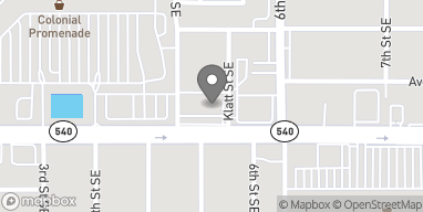 Mapa de 575 Cypress Gardens Blvd en Winter Haven