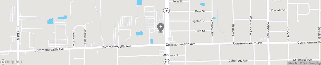 Map of 1008 Edgewood Ave North in Jacksonville