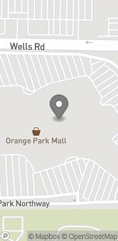 Mapa de 1910 Wells Road en Orange Park