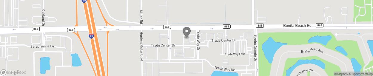 Map of 12731 Bonita Beach Rd SE in Bonita Springs