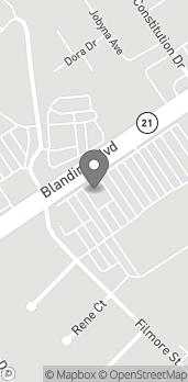 Map of 661 Blanding Blvd in Orange Park