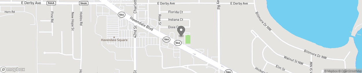Map of 3109 Havendale Boulevard in Auburndale