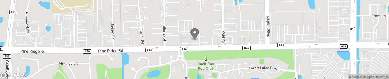 Map of 1935 Pine Ridge Road in Naples