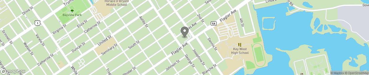 Map of 1835 Flagler Avenue in Key West