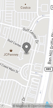 Map of 10089 Gulf Center Drive in Fort Myers