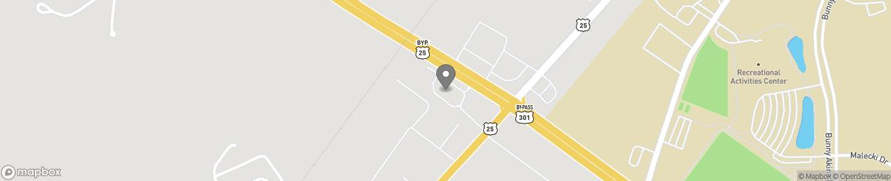 Map of 12 Veterans Plaza in Statesboro