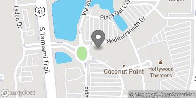 Mapa de 8076 Mediterranean Drive en Estero