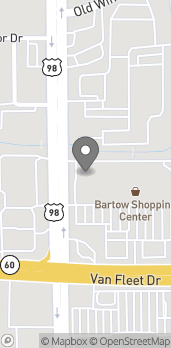 Map of 1030 North Broadway in Bartow